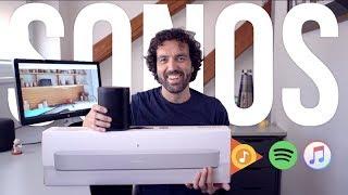 Sonos. Hudba v každé místnosti. Sonos Beam &Sonos One [4K]