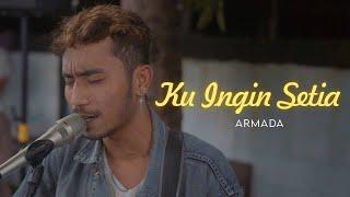Download lagu KU INGIN SETIA - ARMADA (LIRIK) COVER BY ASTRONI TARIGAN