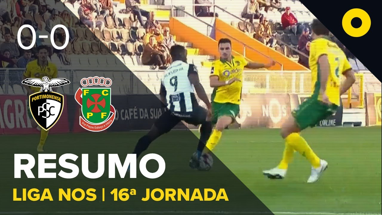 Портимоненси  0-0  Пасуш Феррейра видео