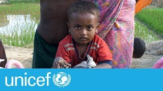 Lifesaving supplies for Rohingya refugees | UNICEF