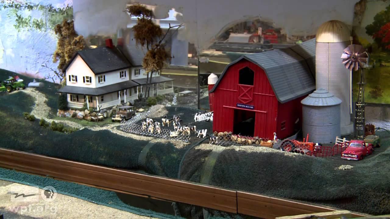 WPT Wisconsin Life - Toy Train Barn
