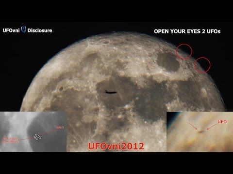 Super Luna Piena con avvistamento UFO a zig zag