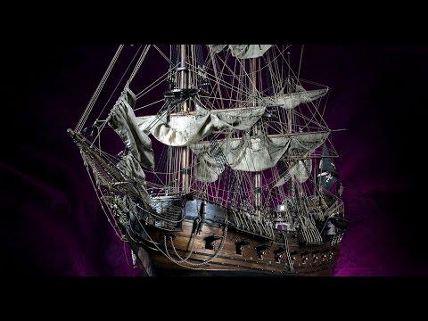 Black Pearl model ship