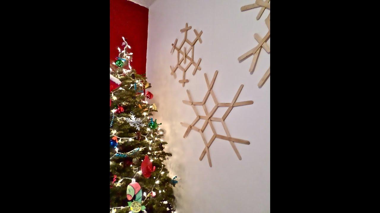 Deco para el hogar copos de nieve home decor - Copos de nieve manualidades ...
