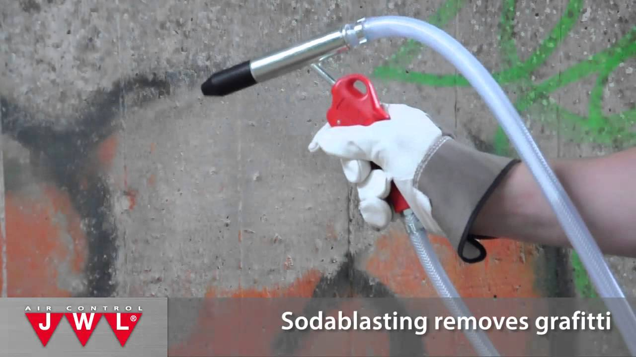 Soda Blast Your Car, Boat, Furniture Or Graffiti The Easy Way   With The  Sodablaster XL From JWL   YouTube