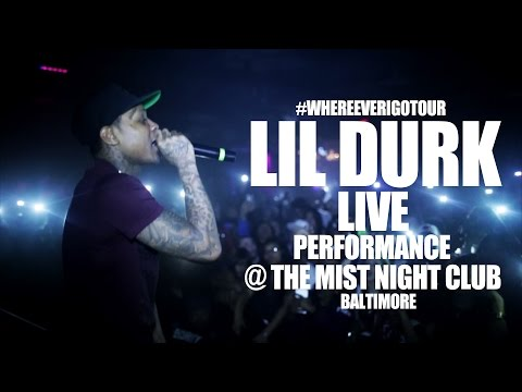 Lil Durk Performance @ The Sound Stage In Baltimore