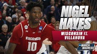 Nigel Hayes scores 19 points, hits game-winning basket vs. 'Nova