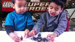 2015 Unboxing Lego 76029 Iron Man vs Ultron Marvel Avengers Superheroes Ironman  Age of Ultron