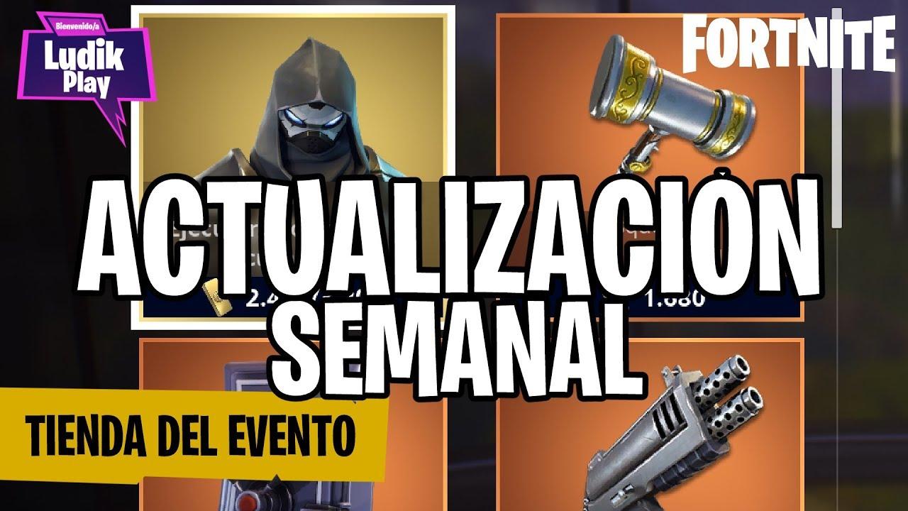 ACTUALIZACIÓN TIENDA EVENTO: EJECUTORA TORMENTA CUCHILLAS | FORTNITE SALVAR EL MUNDO | GUIA ESPAÑOL