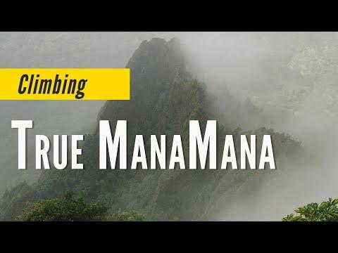 Climbing True Manamana Extreme Hiking Hawaii