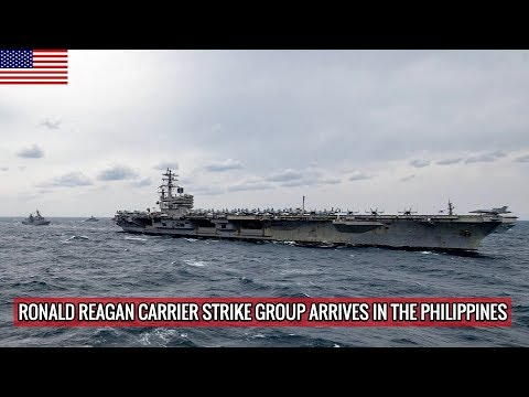 WHY CHINA CAN'T DO MUCH AGAINST RONALD REAGAN CARRIER STRIKE GROUP ?
