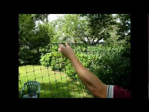 9 Deer Fence Installation Videos Hanging The Fencing