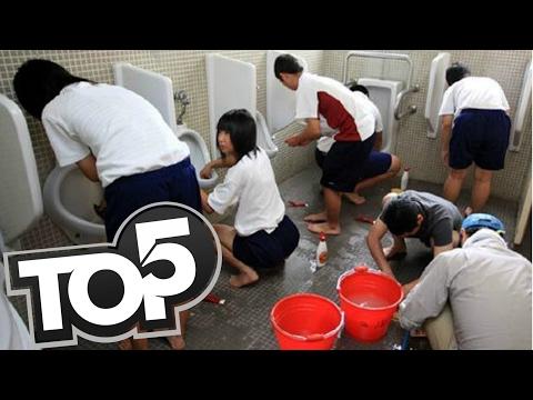 TOP 5 - zaujímavé fakty o Japonských školách