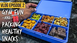 Weekend Antics & Packing Healthy Snacks for Travel: VLOG Ep 2