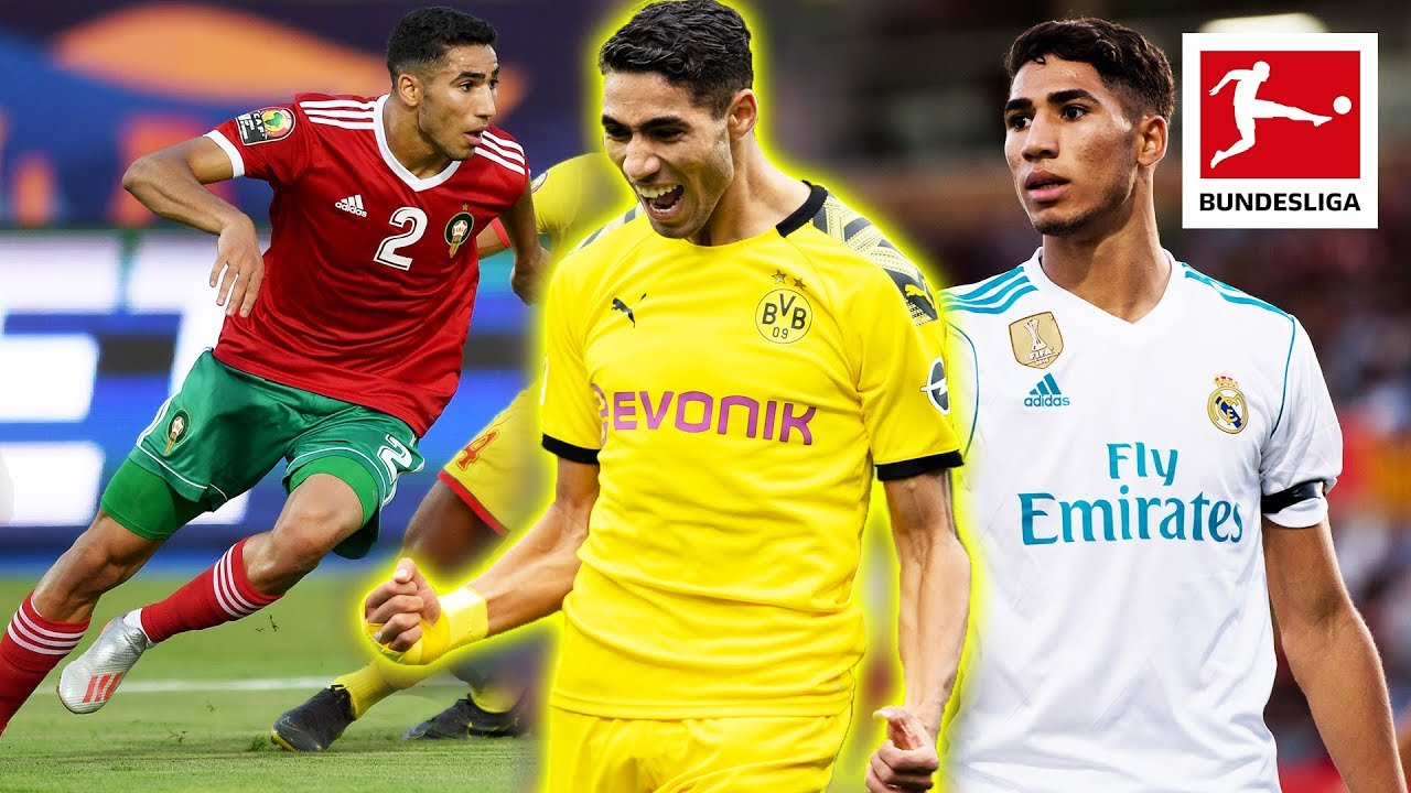 Achraf Hakimi - Bundesliga's Best