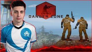 SHROUD FIRST WIN CS GO BATTLE ROYALE DANGER ZONE