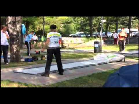 EMF Minigolf European Championships 2010 in Predazzo (Italy)