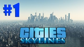 Cities Skylines - O PLANEJAMENTO INICIAL (COM MODS)!!! #1 (Gameplay / PC / PTBR) HD