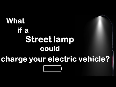 ChargeGrid Flare Streetlamp EV Charger (Short)