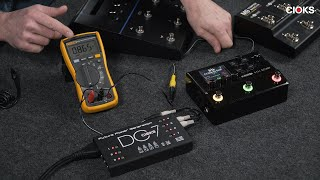 How to power Line 6 HX Stomp, HX Effects and others with CIOKS DC7