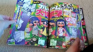 just me reviewing the first volume of the splatoon only corocoro ma...