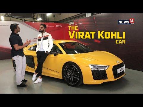 Virat Kohli On His Love For Audi R8 V10 Plus