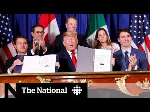'Battle' over as Trudeau, Trump, Pena Nieto sign 'new NAFTA'