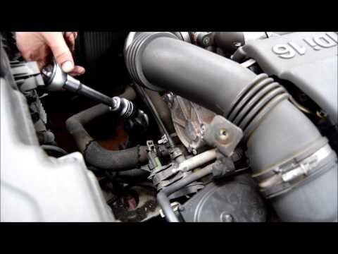 How to change the oil filter on a Citroen C5 1.6 HDI