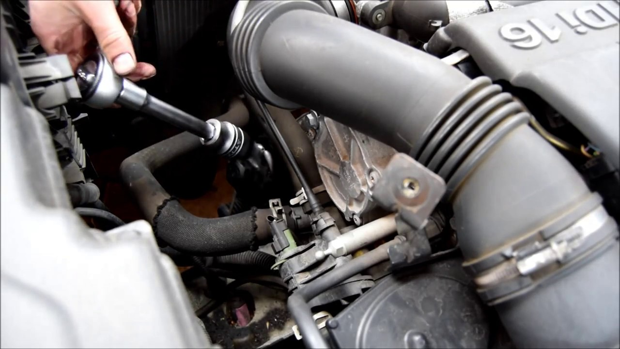 how to change oil filter