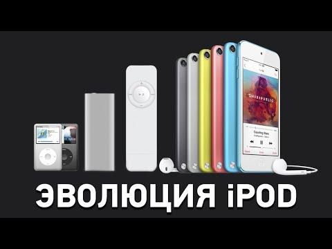 Эволюция iPod