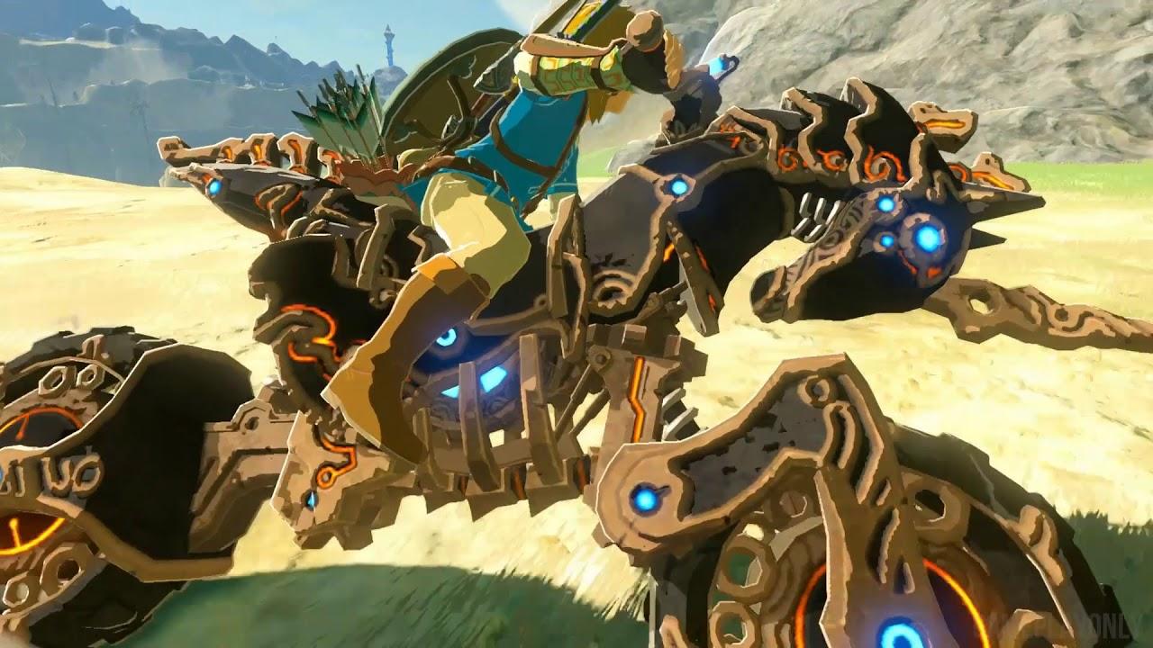 Zelda: Breath of the Wild - How To Unlock Master Cycle Zero