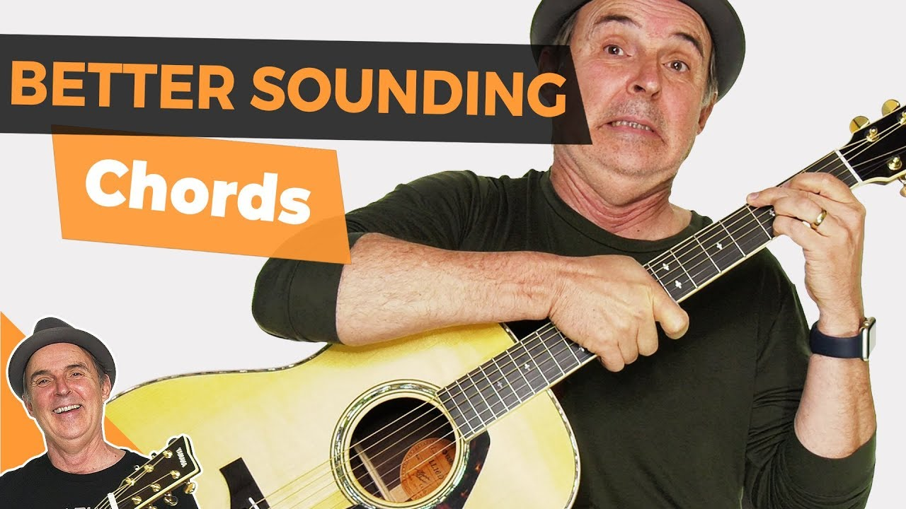 Finger Placement For Better Sounding Guitar Chords Youtube