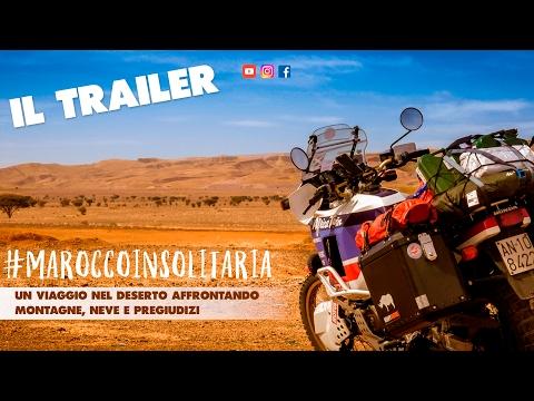 Marocco in solitaria - IL TRAILER di un viaggio in Marocco in moto. Africa Twin xrv 650