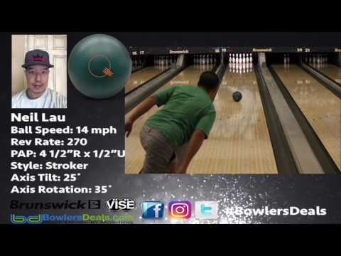 Brunswick Forest Green Quantum - Ball Review by Neil Lau - Bowlersdeals.com