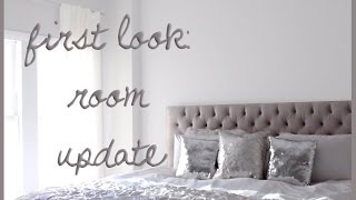 Apartment + Room Updates: Headboard, Paint + Curtains! Thumbnail