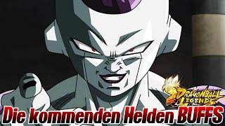Die kommenden Helden BUFFS! Wie sinnvoll sind sie wirklich? 🤔 | Dragon Ball Legends Deutsch