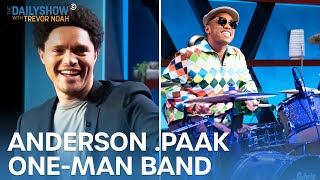 Anderson .Paak: The Daily Show's New One-Man Band | The Daily Show