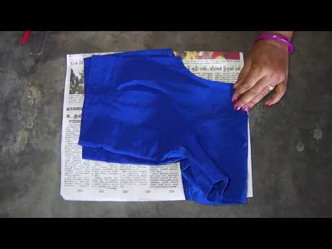 Blouse Paper Cutting In Tamil   Simple Blouse Paper Cutting For Beginners