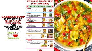 Cabbage Soup Diet: Recipe for Weight Loss &amp Detox