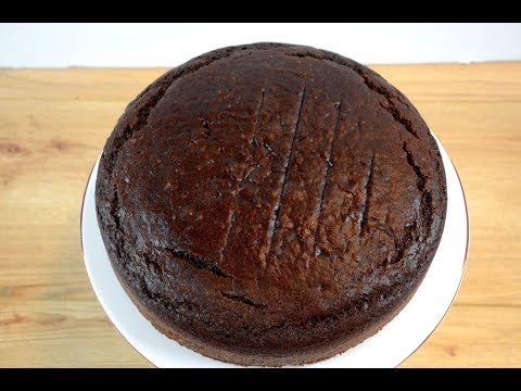 Easy vegetarian chocolate cake recipe