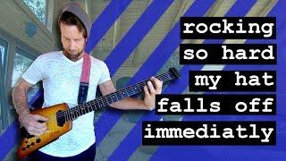 Rocking so hard my hat falls off immediately (360 Music Video)