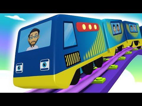 Green Land - Trains for Kids - Toy Train - Choo Choo Train - Cartoon for Kids - Toy Factory