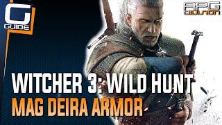 witcher 3 the wild hunt mag deira cuirass armor lvl 26 diagram location