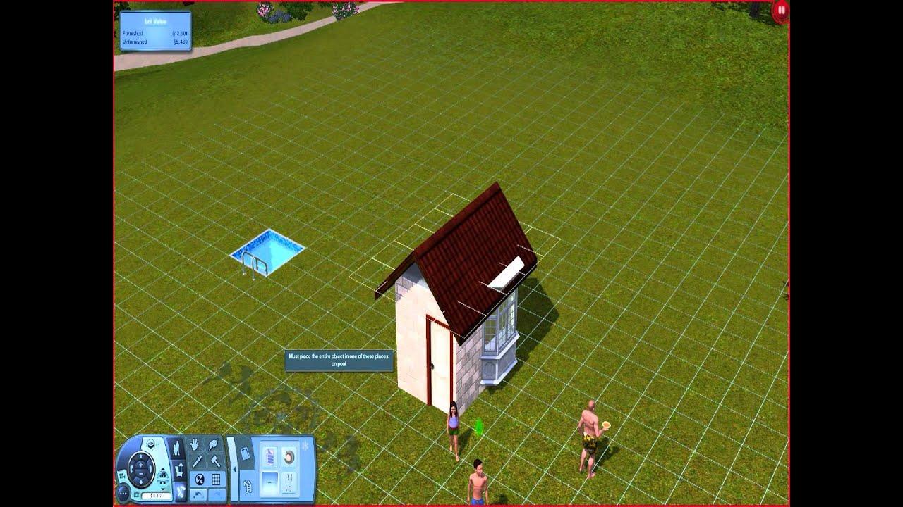Sims 3 Tiny House Part 1 YouTube