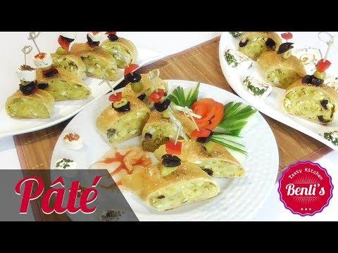 bread roll ups أكلة تونسية باتي بالدجاج و الجبن لذيذ جدا