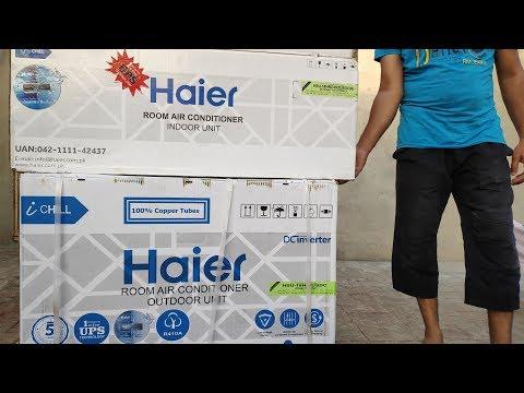 DC Inverter Air Conditioner AC Review & Installation On Solar UPS   Zakria ZU  