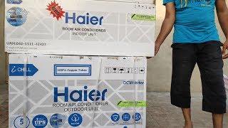 DC Inverter Air Conditioner AC Review & Installation On Solar UPS | Zakria ZU |