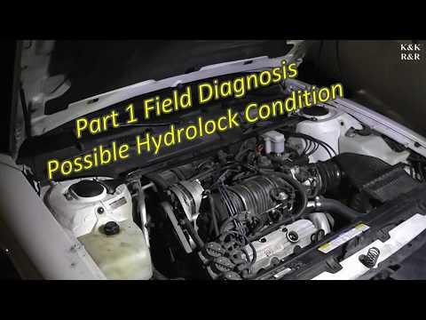 1995 Oldsmobile 88 3.8L Series II  Upper Intake Mainfold Coolant Leak Part 1 Diagnose Hydro-lock