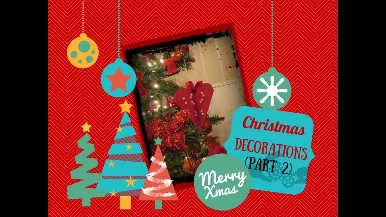Decorazioni natalizie fai da te parte 2 diy christmas for Youtube decorazioni natalizie