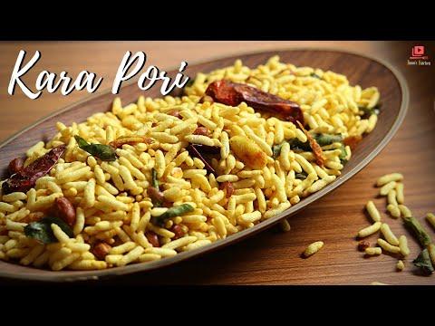 kara-pori-recipe-|-pori-varuthathu---puffed-rice-snacks-recipe